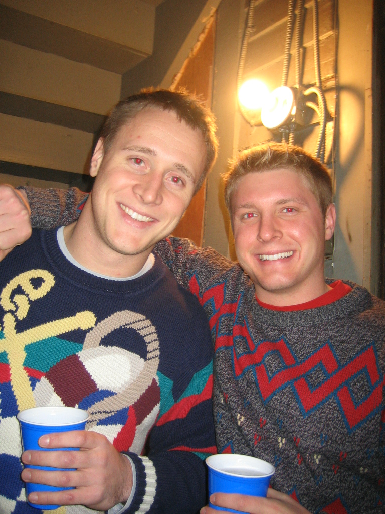 Ben's Bad Christmas Sweater Bday Party 009