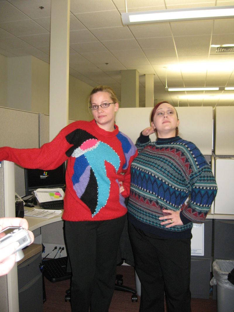 Bad Sweater Day Fun
